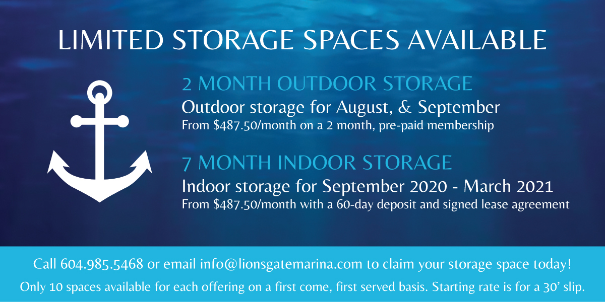 2 month and 7 month outdoor storage spaces available